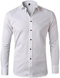 Shirt Camicie Amazon T Bianco Polo Abbigliamento Camicie E it wqUIB