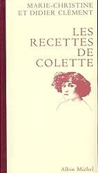 Les recettes de Colette