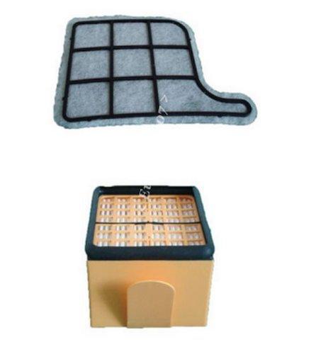 1 Microfiltro Higiénico + 1 Filtro de Proteccion del Motor para Kobold VK135/ 136