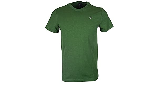G-Star RC Moak Jeffer Slub Jersey Regular Fit Green T-Shirt