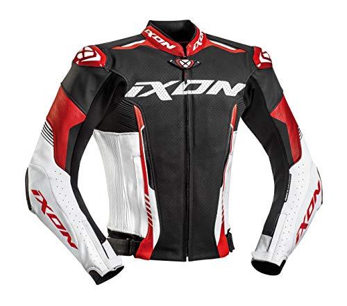 Ixon Giacca Moto Vortex 2 Jkt Nero/Bianco/Rosso, M