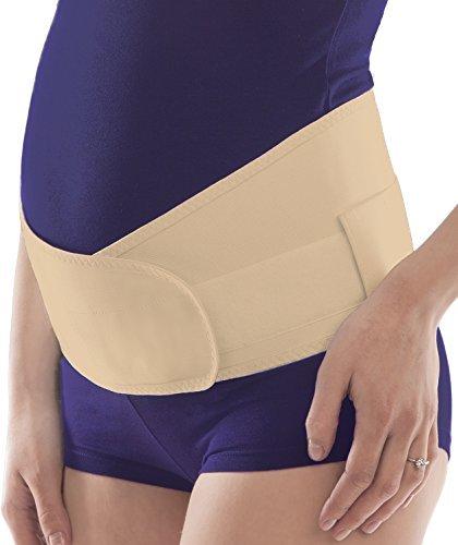 Schwangerschaftsgürtel Verstellbare Becken- und Rückenstütze Schwangerschafts-Bauchbinden Small Beige
