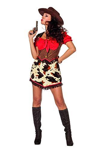 Texas Lady Peggy Cowgirl Kostüm-Damen 42