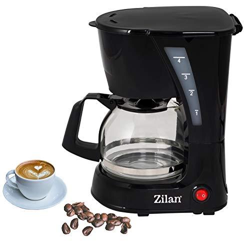 Kaffeemaschine | Filterkaffeemaschine | Kaffeefiltermaschine | Warmhalteplatte | 600 Watt |...