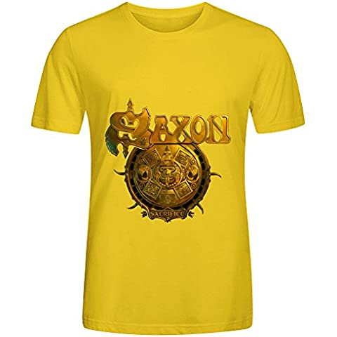 Saxon Sacrifice Electronica Mens O Neck Diy T Shirt XXXX-L