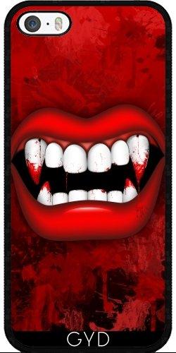 Custodia in silicone per Iphone 7 / Iphone 8 - Vampiro by BluedarkArt Silicone