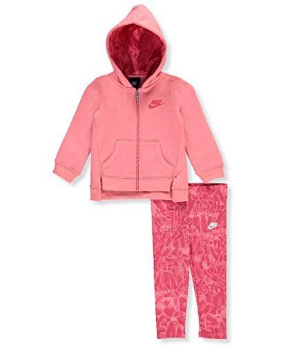 Nike Baby Mädchen Zweiteiliges Outfit, Light Fuchsia Red Nike Kleinkind-mädchen-kleidung