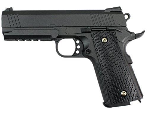 B.W. GYD Master25 1:1 Pistole Softair Metal Airgun Gewehr Black Magazin Federdruck 0,5 Joule VOLLMETALL (GYD1002525) (Spielzeug Gewehr Black Ops)