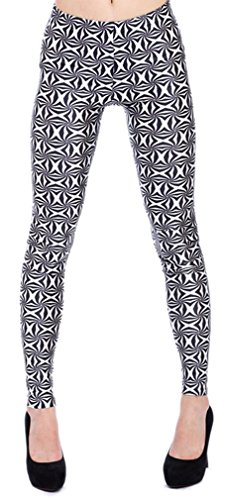 Thenice - Legging - Slim - Femme taille unique Staggered