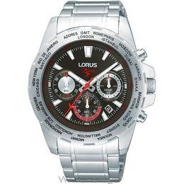 Lorus by Seiko Gents Blades Sports Chronograph Stainless Steel Bracelet Watch RT331AX9