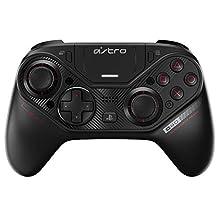 ASTRO Gaming C40 TR PS4 Controller, Volledig Aanpasbare Professionele Draadloze Controller, Compatibel met PlayStation 4 & PC - Zwart