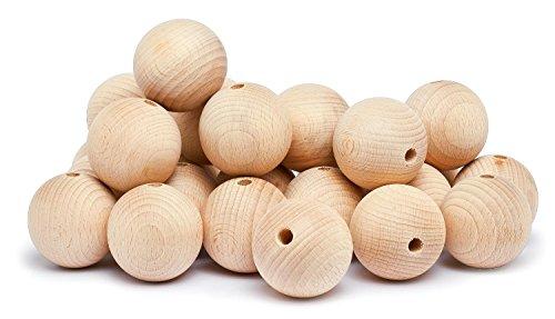 Holzkugeln--50-mm-durchgebohrt
