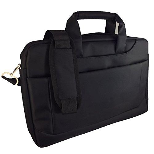Laptoptasche für HKC NT14W-DE Businesstasche / Aktentasche / Notebooktasche mit Schultergurt - LB Schwarz 6