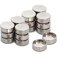 GP Batteries - Pack de 20 pilas alcalinas de botón LR44 / A76 / 357 / GP76A / SR44W 1,5V   Ideales para relojes, calculadoras, juguetes, linternas, luces nocturnas infantiles, libros con sonidos y muchos otros pequeños dispositivos