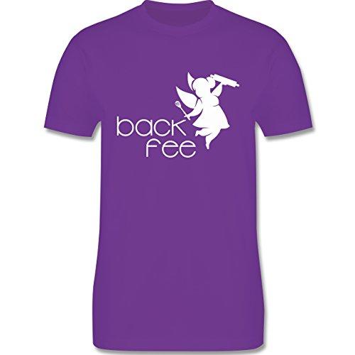 Küche - Back Fee dicke Fee - Herren Premium T-Shirt Lila