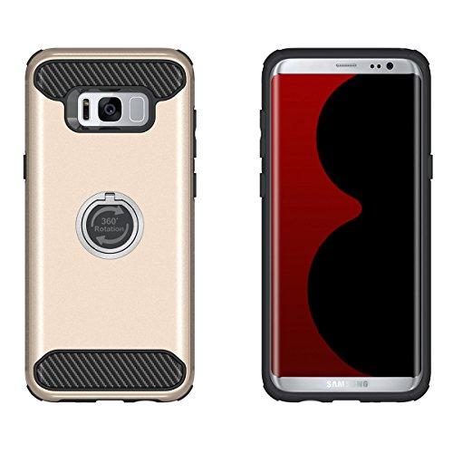 Galaxy S7 Edge Coque,EVERGREENBUYING Ultra Slim léger 2 en 1 SM-G9350 Cases Housse Etui avec fente pour carte porte-monnaie Case Pour Samsung GALAXY S7 Edge Noir Or