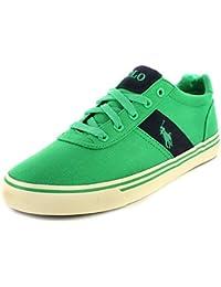 Ralph Lauren Polo ANFORD Green Scarpe Uomo Sneakers Tessuto 2c573742a27