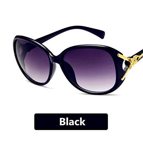 YHEGV Neueste Niet Sun Glasse Uv400 Vintage Lady Sonnenbrille Frauen Brille Retro Metall Kunststoff Sonnenbrille Luxuriöse Anmut