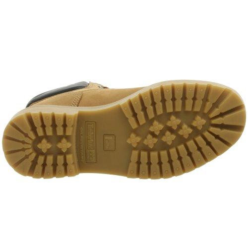Timberland PRO Men's Direct Attach Six-Inch Soft-Toe Boot, Black,10.5 W Wheat Nubuck
