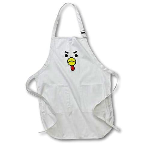 apr_57135_1 Janna Salak Designs Farm Animals - Cute Angry Chicken
