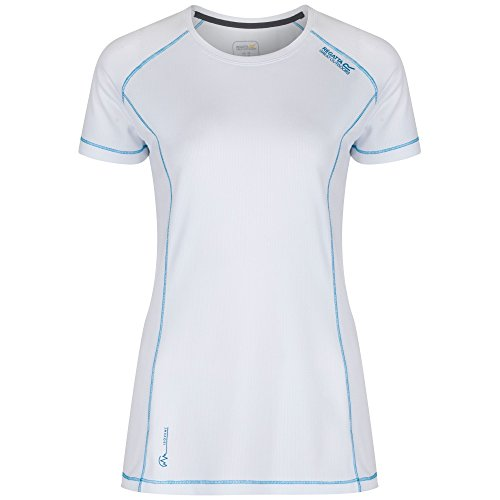 Regatta Damen Virda T-Shirt Fluoreszenz Blau