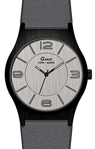 Garde' Uhren aus Ruhla Herrenuhr Elegance 23620 Slim Design