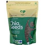 Nourish You Organic Black Chia Seeds, 500G (Single Pack)