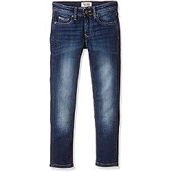 Tommy Hilfiger Boy's Scanton Slim VMW Jeans, Blue, 12 Years