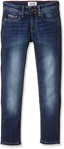 Tommy Hilfiger Jungen Jeanshose SCANTON SLIM VMW, Gr. 152 (Herstellergröße: 12), Blau (Vermont Mid Wash 912) (Tommy Hilfiger Kinder)