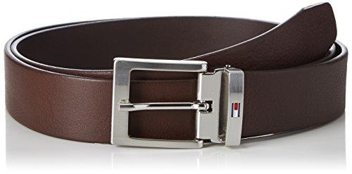Tommy Hilfiger Herren Gürtel Adjustable Belt 3.5, Braun (Testa Di Moro 254), 110 Preisvergleich