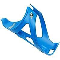 OVVO Amistoso Jaula de Bicicleta de montaña, Botella de Agua, Ligera y Fuerte, portabotellas de Botella de Bicicleta (Azul)