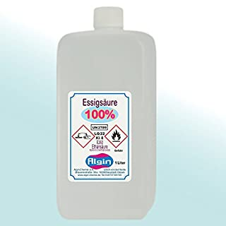 Acetic acid 100 %, 1 litre, food grade