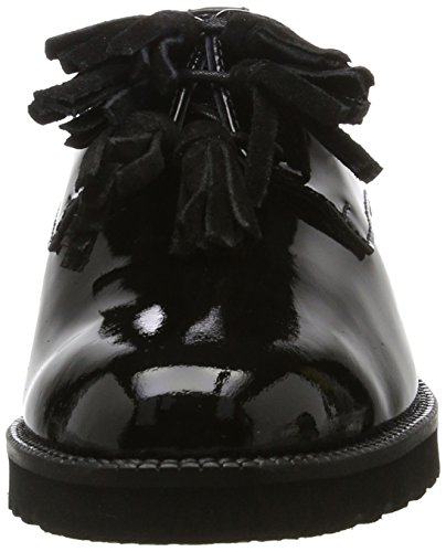 Pinto Di Blu Mary, Chaussures à lacets femme Schwarz (Black)
