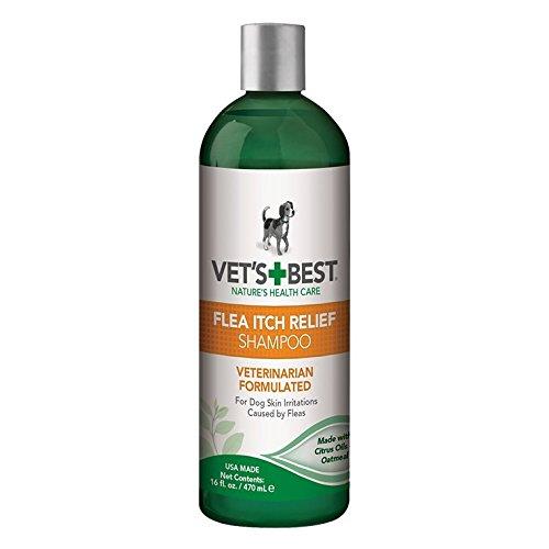 Vet´S Best Hunde Shampoo Gegen Juckreiz durch Flohbefall 470 ml -