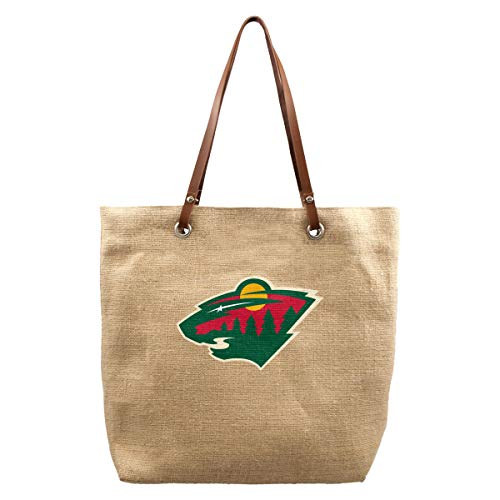 Littlearth NHL Minnesota Wild Sackleine Market Tote -