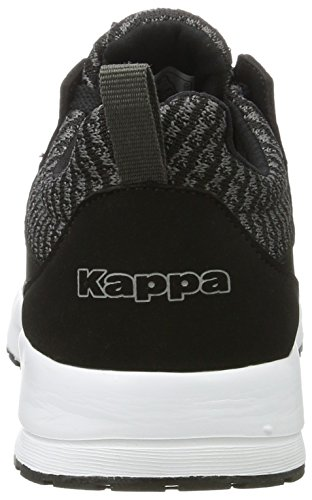 Kappa Tray Ii, Sneakers Basses Mixte Adulte Noir (1116 Black/grey)