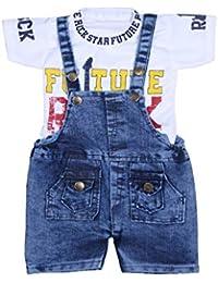 43a17788144 Denim Boys' Jumpsuits: Buy Denim Boys' Jumpsuits online at best ...