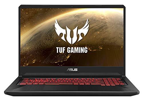 "ASUS TUF Gaming FX705GD-EW091 - Portátil Gaming de 17.3"" FHD (Intel Core i5-8300H, 8 GB RAM, 256 GB SSD, NVIDIA GeForce GTX1050 4GB, Sin Sistema operativo) Negro - Teclado QWERTY Español"