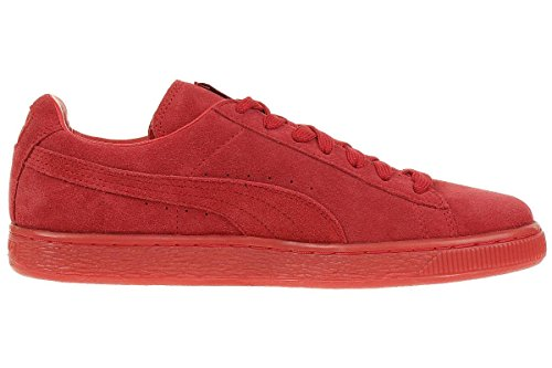 Puma Suede Classic+ Mono ICED Leather Sneaker Men Trainers red 360231 05 High Risk Red-Team Gold