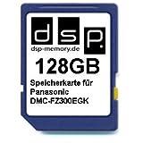 DSP Memory Z-4051557435599 128GB Speicherkarte für Panasonic DMC-FZ300EGK