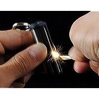Clave Cadena Llavero de acero inoxidable Match Box Mechero Lighter