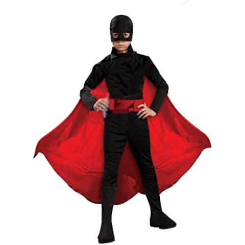Rubie`s - Disfraz infantil de Zorro Generación Z (883569-L)