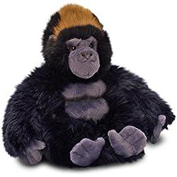 Keel Toys 64911 - Gorila de peluche sentado, 20 cm