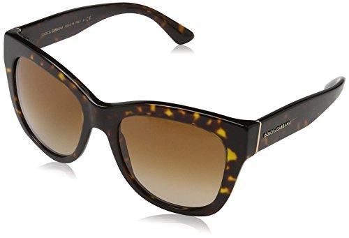 Dolce & Gabbana Damen 0DG4270 502/13 55 Sonnenbrille, Braun (Havana/Browngradient),