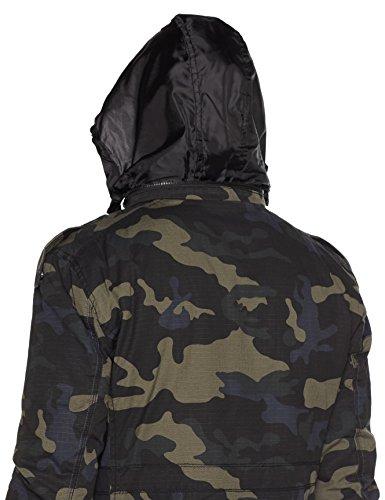 Brandit Herren Jacke Jasper Ripstop Fieldjacket Mehrfarbig (Darkcamo 4)