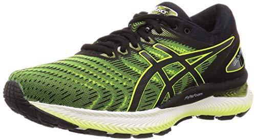 Asics Gel-Nimbus 22, Zapatillas de Running para Hombre, Amarillo SafetyYellow/Black 751, 43.5 EU