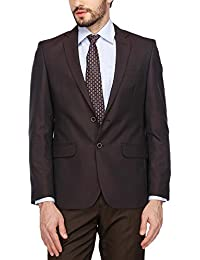 Raymond Mens Notched Lapel Printed Blazer