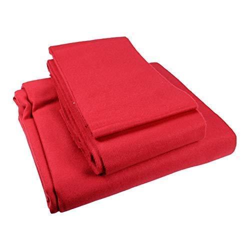 ClubKing Ltd Speed Billardtuch, für Bett und Banden, Rot, 213x122cm