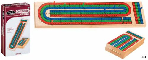 Toysmith 3-Track Cribbage Board (Cribbage Board-3-track)