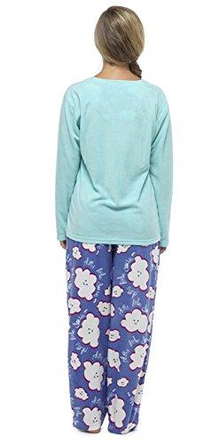 Hari Deals - Ensemble de pyjama - Femme bleu bleu Bleu